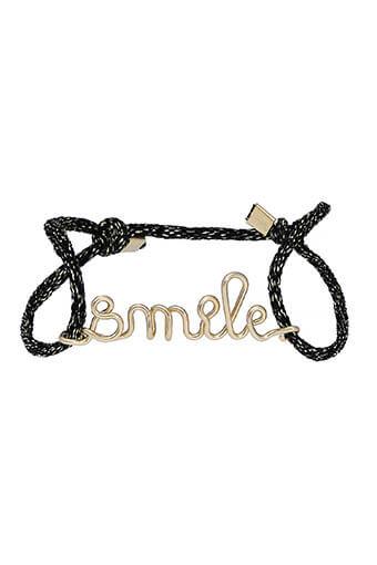 Atelier Paulin / Bracelet smile sur lien en soie