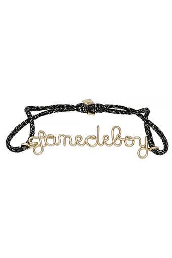Atelier Paulin / Bracelet  Jane de Boy sur soie