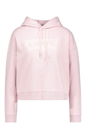 Levi's / Cropped Graphic Hoodie Housemark