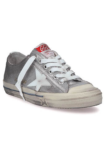 Golden Goose / Sneakers V-star 2, silver