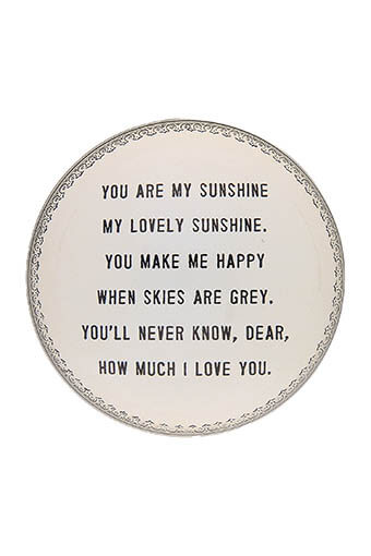 Sugarboo / Presse papier You are my Sunshine
