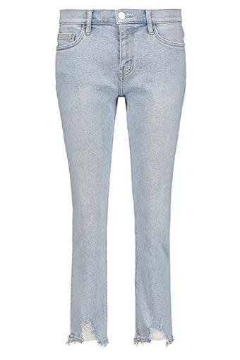 Current Elliott / The Cropped Straight Jean 1