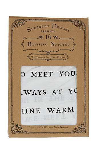 Sugarboo / Lot de 10 torchons Blessing Napkins