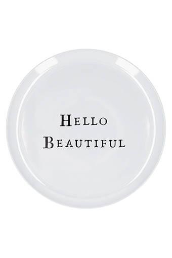 Sugarboo / Assiette Hello Beautiful