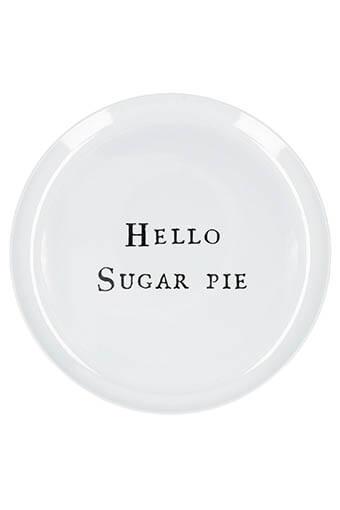 Sugarboo / Assiette Hello  Sugar Pie