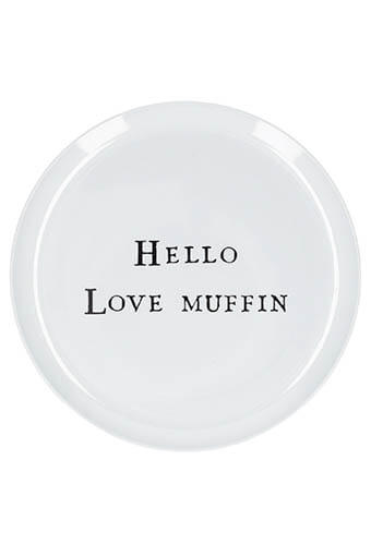 Sugarboo / Assiette Hello Love Muffin