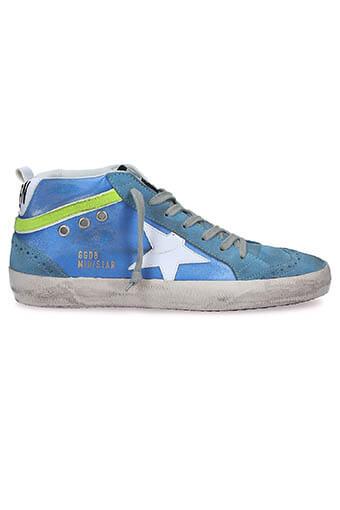 Golden Goose / Sneakers midstar blue sky