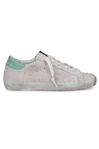 Golden Goose / Sneakers Superstar, gouttes de pluie