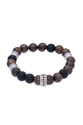 Chan Luu / Bracelet Bronzite mix