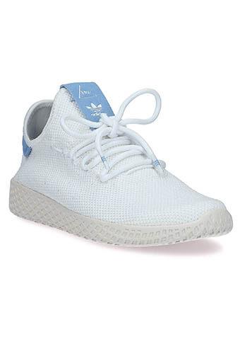 Adidas Originals / Baskets Pharrell Williams patch bleu