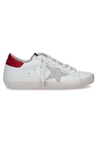 Golden Goose / Sneakers Superstar, patch bordeaux