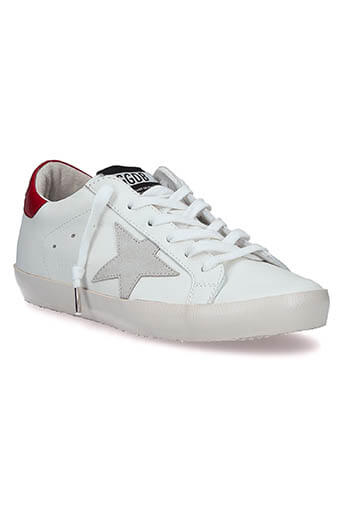 Golden Goose / Sneakers Superstar, patch bordeaux