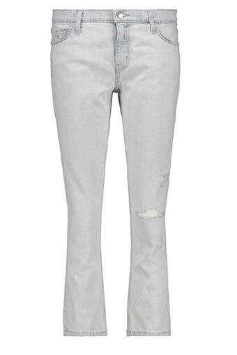 Current Elliott / The Cropped Straight Jean 2