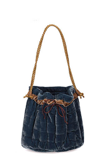 Fabric Copenhagen / Sac à main en velours jeans
