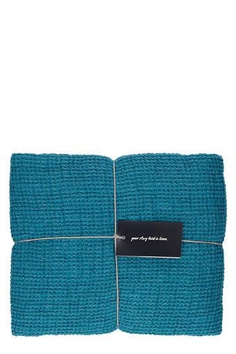 LinenMe / Jetée de canapé 155 x 200 cm Balsam green
