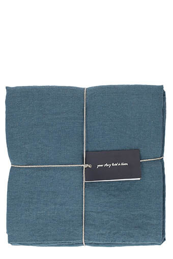 LinenMe / Taies d'oreillers x 2  50 x 75 cm Balsam green