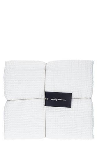 LinenMe / Serviette de toilette 75 x 130 cm White