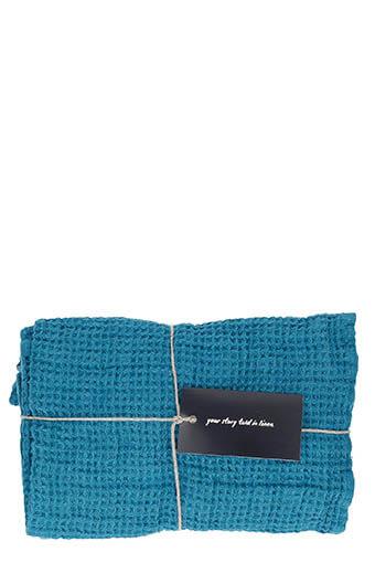 LinenMe / Serviettes de toilette x 2  50 x 70 Marine blue