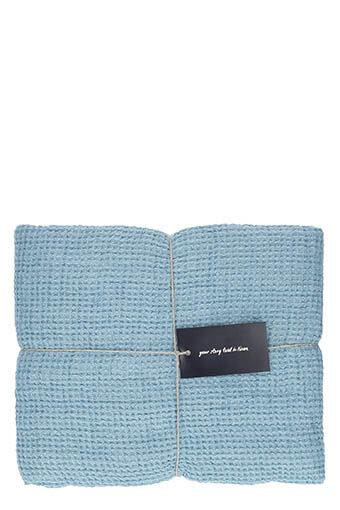 LinenMe / Serviette de toilette 100 x 160 cm Stone blue