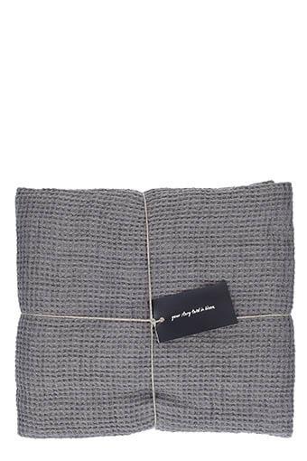 LinenMe / Serviette de toilette 100 x160 cm Steel grey