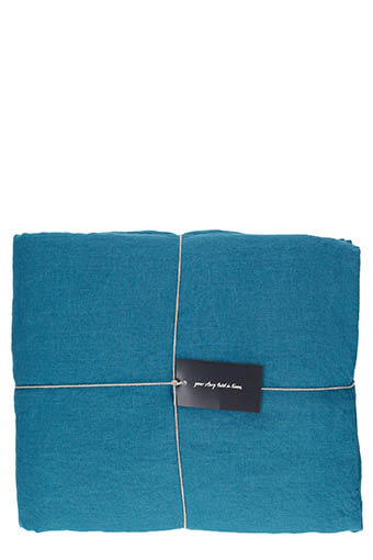 LinenMe / Housse de couette  240 x 220 Marine blue