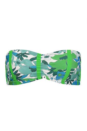 Roseanna / Haut de bikini bandeau Hawaï Flume