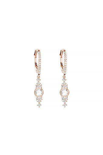 Stone Paris / Boucles d'oreilles Himalaya en or rose