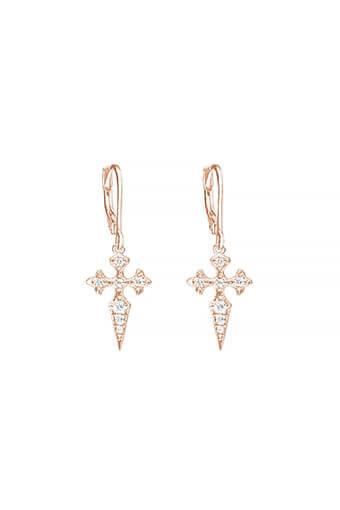 Stone Paris / Boucles blood diamonds or rose