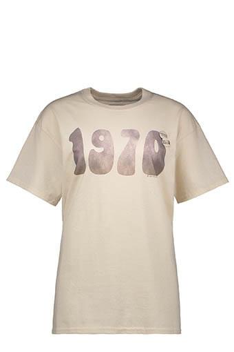 Newtone / Tee shirt natural 1970