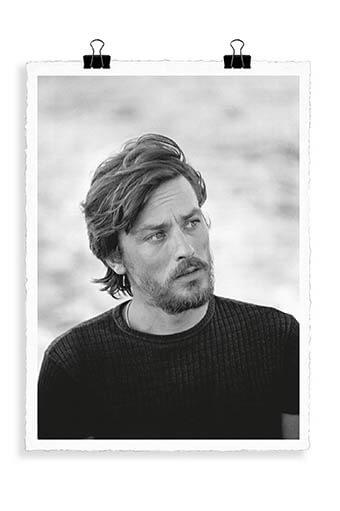 Image Republic / Alain Delon gam 56 x 76 cm