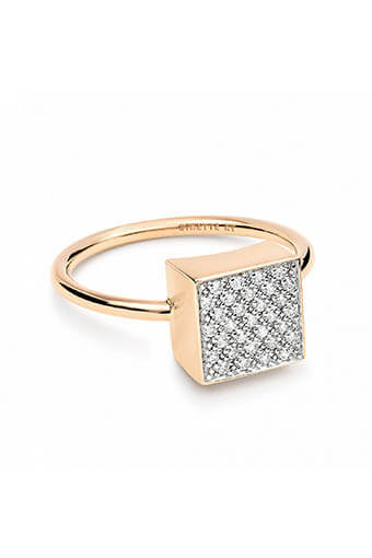 Ginette NY / Bague - Diamond Ever Square