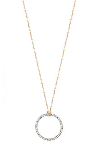 Ginette NY / Collier - Mini diamond circle
