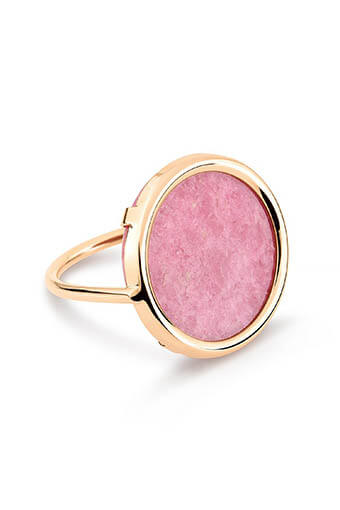Ginette NY / Bague - Rhodonite disc