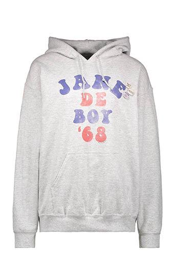 Newtone / Sweat capuche Jane De Boy '68