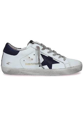 Golden Goose / Sneakers Superstar, dark navy star