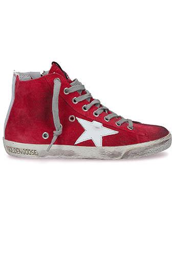 Golden Goose / Sneakers Francy, fraise suédé
