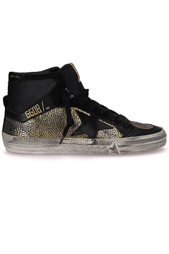 Golden Goose / Sneakers 2.12 gold print