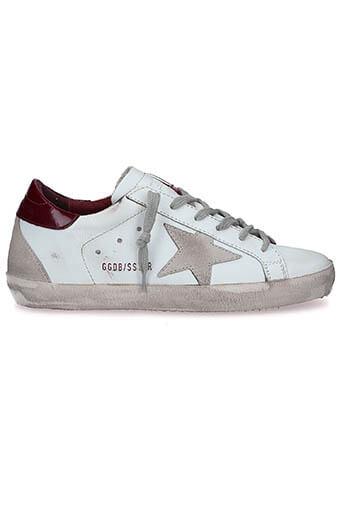 Golden Goose / Sneakers Superstar White-Cherry