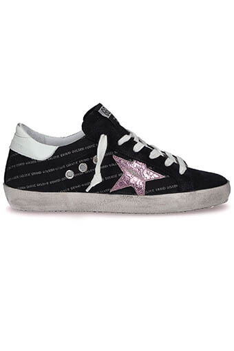 Golden Goose / Sneakers Superstar repeated logo