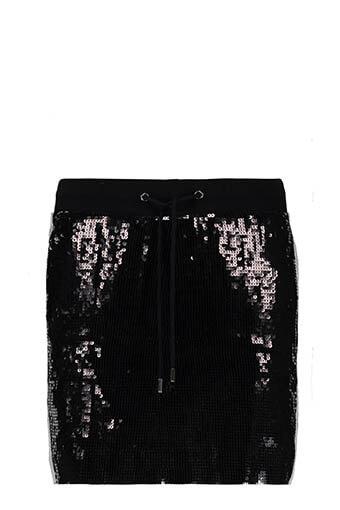 Alberta Ferretti / Jupe à sequins noirs