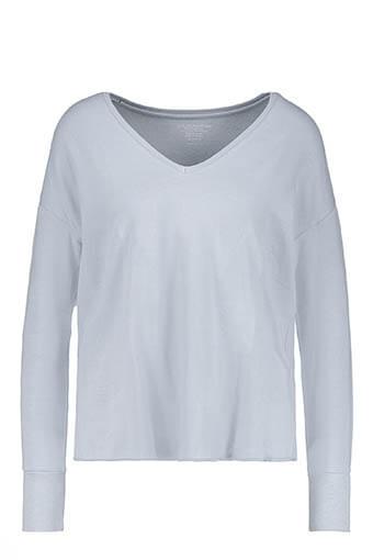 Majestic Filatures / Tee shirt col V manches longues viscose