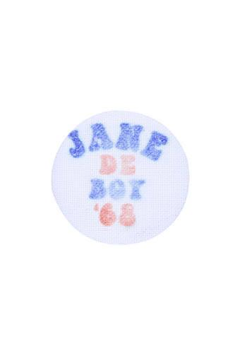 Newtone / Badge tissu Jane de Boy '68