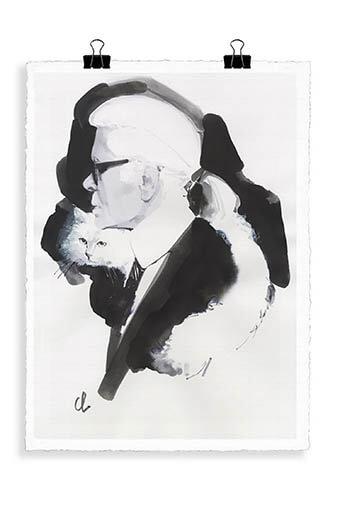 Image Republic / Portrait Lagerfeld K1