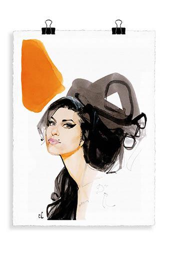 Image Republic / Portrait Amy Winehouse A1