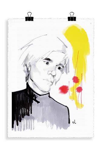 Image Republic / Portrait Andy Warhol W1
