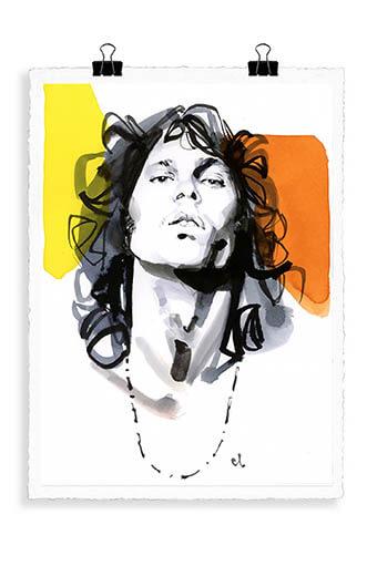 Image Republic / Portrait Jim Morrison M7
