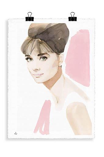 Image Republic / Portrait Audrey Hepburn A2