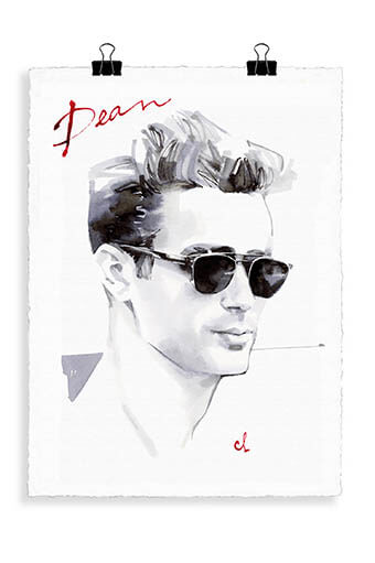 Image Republic / Portrait James Dean J1