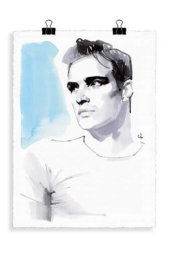 Image Republic / Portrait Marlon Brando B6