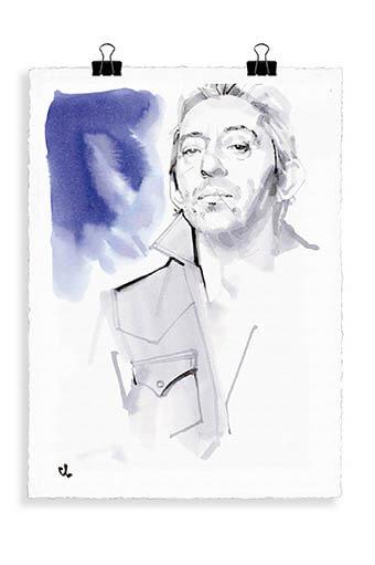 Image Republic / Portrait Serge Gainsbourg G2